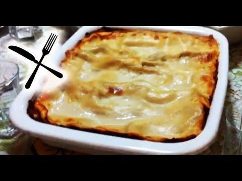 Mum Cooking Lasagne bake Recipe delicious health vegetarian Lasagna home cooked food Vegan mom