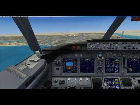 FSX Tutorials - (Basics) How to fly a Boeing 737-800