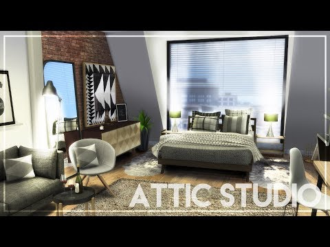 ATTIC STUDIO APARTMENT + TOUR + CC LINKS