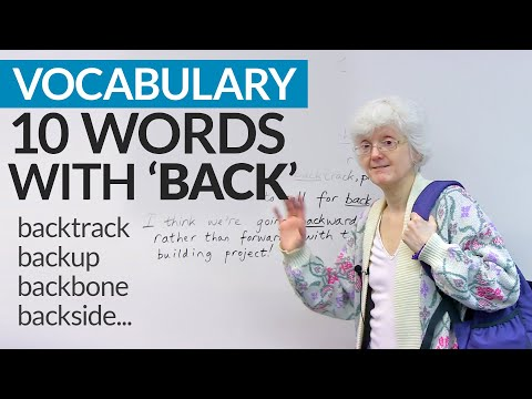 Vocabulary: Learn 10 words that come from