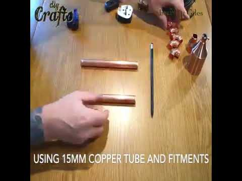 How to Make Copper Pipe Lamp