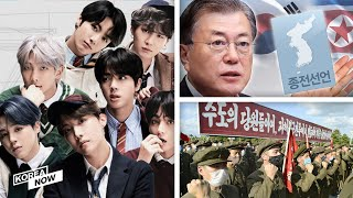 Moon proposes declaring end to Korean War / BTS wins two nominations at 2020 Billboard Music Awards