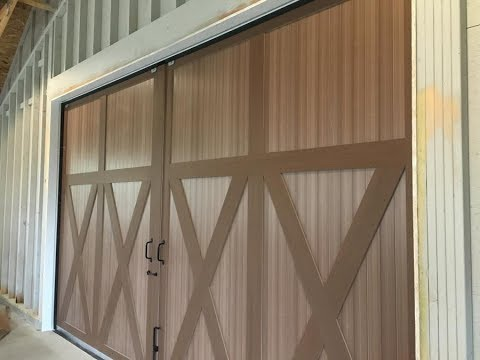 Barn Door Brush Seal Installation by JaCor, Inc.