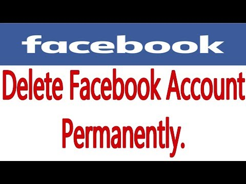 How To Delete Facebook Account / ID Block Permanently 2017 || Deactivate Facebook Account