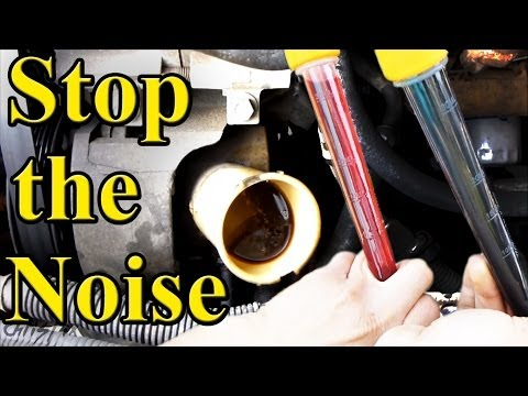Quiet a Power Steering Pump, How To