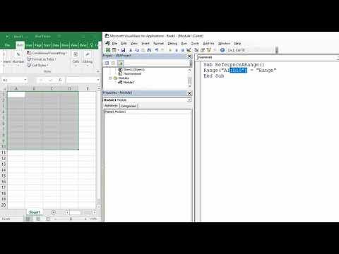 Reference a Range or Multiple Ranges in Excel VBA