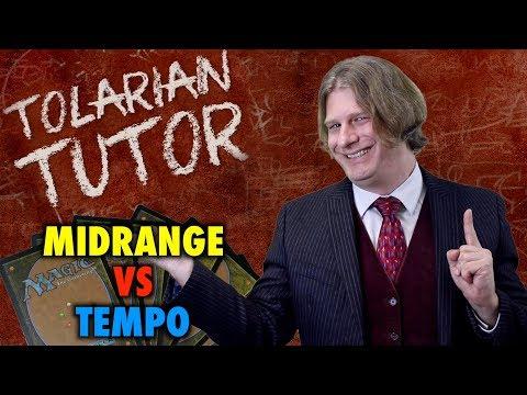 Tolarian Tutor: Midrange vs Tempo Decks - A Magic: The Gathering Study Guide