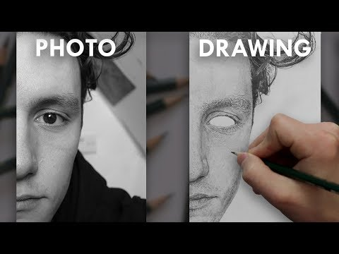 How To Draw REALISTIC SKIN TEXTURE in PENCIL - Narrated Tutorial