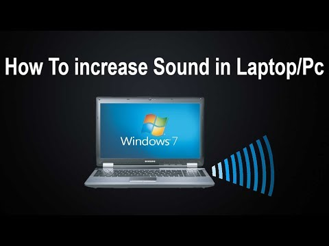 How to increase laptop / Pc  sound Volume more than 100%