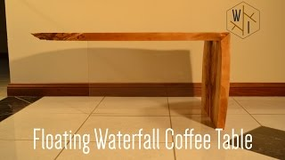 Floating Waterfall Coffee Table