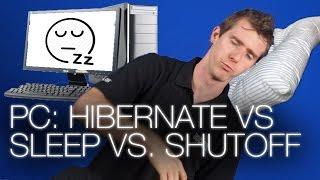 Should you Hibernate, Shut down, or put your PC to sleep?