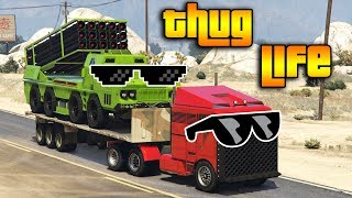 GTA 5 ONLINE : THUG LIFE AND FUNNY MOMENTS (WINS, STUNTS AND FAILS #131)