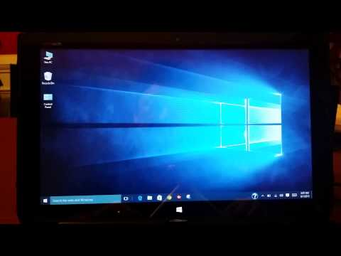 Windows 10: screen will not auto rotate