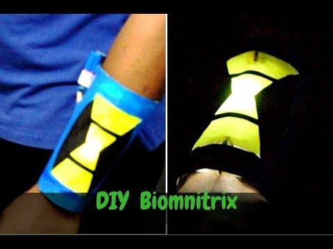 Diy Ben 10000 omnitrix | How to make Ben 10 omniverse  Biomnitrix