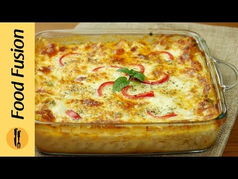Chicken Lasagne By Food Fusion