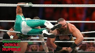 Braun Strowman gets flattened with a 619 and RKO combo: Greatest Royal Rumble (WWE Network)