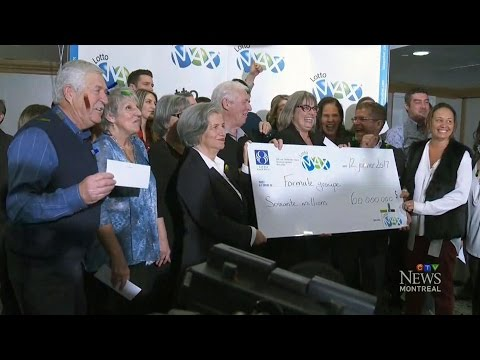 26 family members, 2 friends share $60M Lotto Max jackpot