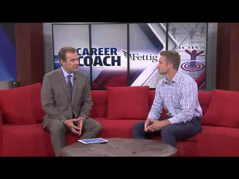 Career Coach Mike Fettig on Fox 17- Job Search