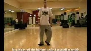 Learn how to slide/Glide/ similar to moonwalk: Hip Hop/Street Dance/Breakdance tutorial: