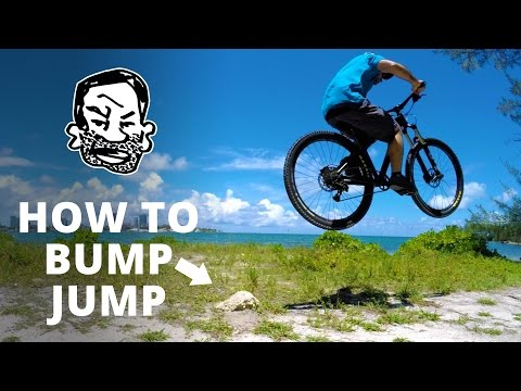 How to Bump Jump a MTB - Get air off roots!