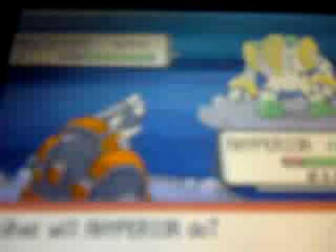 pokemon diamond how to get Regigigas