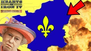 Hearts of Iron 4 HOI4 Weak Britain Tries To Defeat The French Empire -  getplaypk