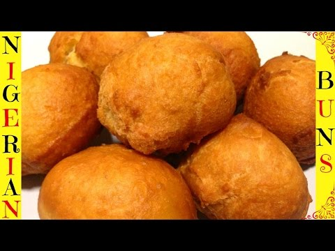 How to Make Nigerian Buns | Nigerian Buns Easy Recipe