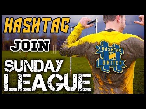 HASHTAG JOIN SUNDAY LEAGUE!