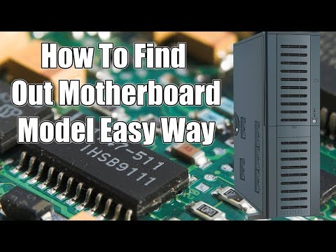 How To Find Motherboard Model Without Opening Computer Case