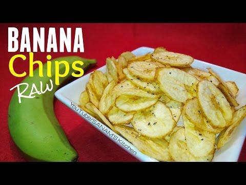 कच्चे केले की वेफर बनाए Raw Banana chips Recipe