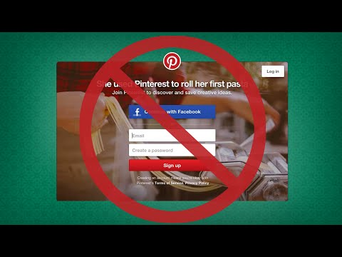 How to Skip the Annoying Pinterest Login/Signup Popup