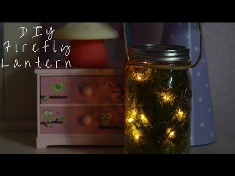 DIY Firefly Lantern
