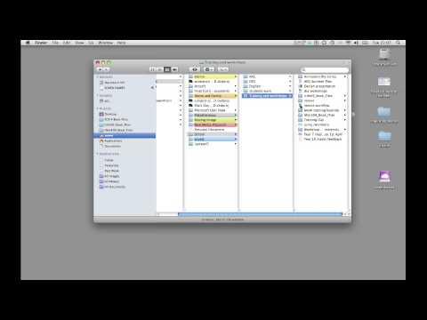 Using a memory stick on a mac