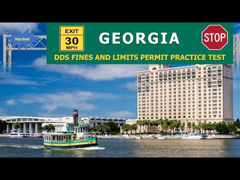FREE Georgia DDS Fines and Limits Permit Practice Test (hardest)