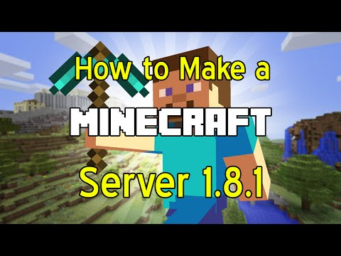 *Updated* How to make a 1.9 Minecraft Server! (Works for 1.7-1.8.9)