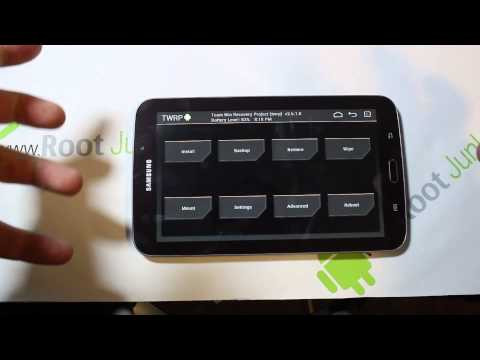 Samsung Galaxy Tab 3 TWRP recovery and root