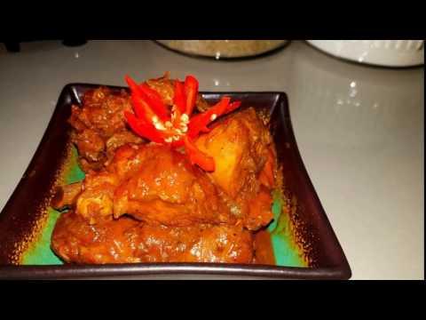 Stewed Chicken Trini-style