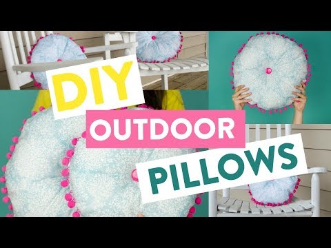 How To Make Outdoor Pillows