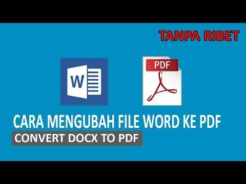 cara mengubah file word ke pdf di hp android convert docx to pdf