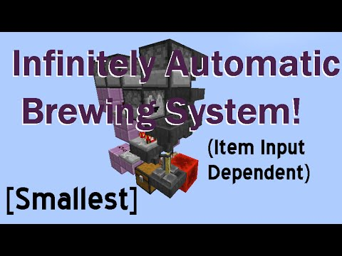 [Smallest] [2x4x5] Infinitely Automatic Brewing System! (5 ingredient) - 1.12-1.8+ | Ray's Works