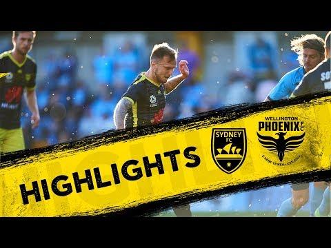 Highlights | Sydney FC Vs Wellington Phoenix FC
