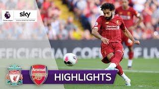Salah trifft doppelt!   FC Liverpool - FC Arsenal 3:1   Highlights - Premier League 2019/20