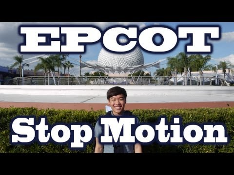 [StopMotion] The World In 100 Steps - Epcot Disney World