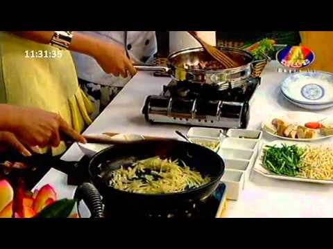 Khmer Stars Learn to cook Khmer Food, Khmer Dishes Cooking, BAYON TV Khmer Food
