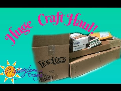 HUGE Craft Haul! 24 Hours of Crafts on HSN, and Much More!