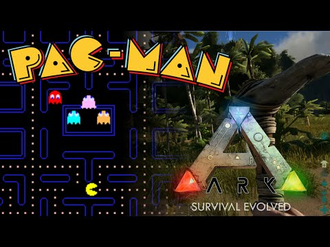 Pac-man in ARK: Survival Evolved