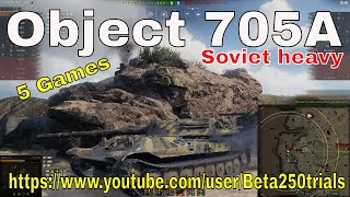 Object 705a World Of Tanks  Review   $ Games