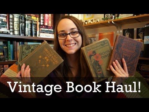 Vintage / Old book haul!