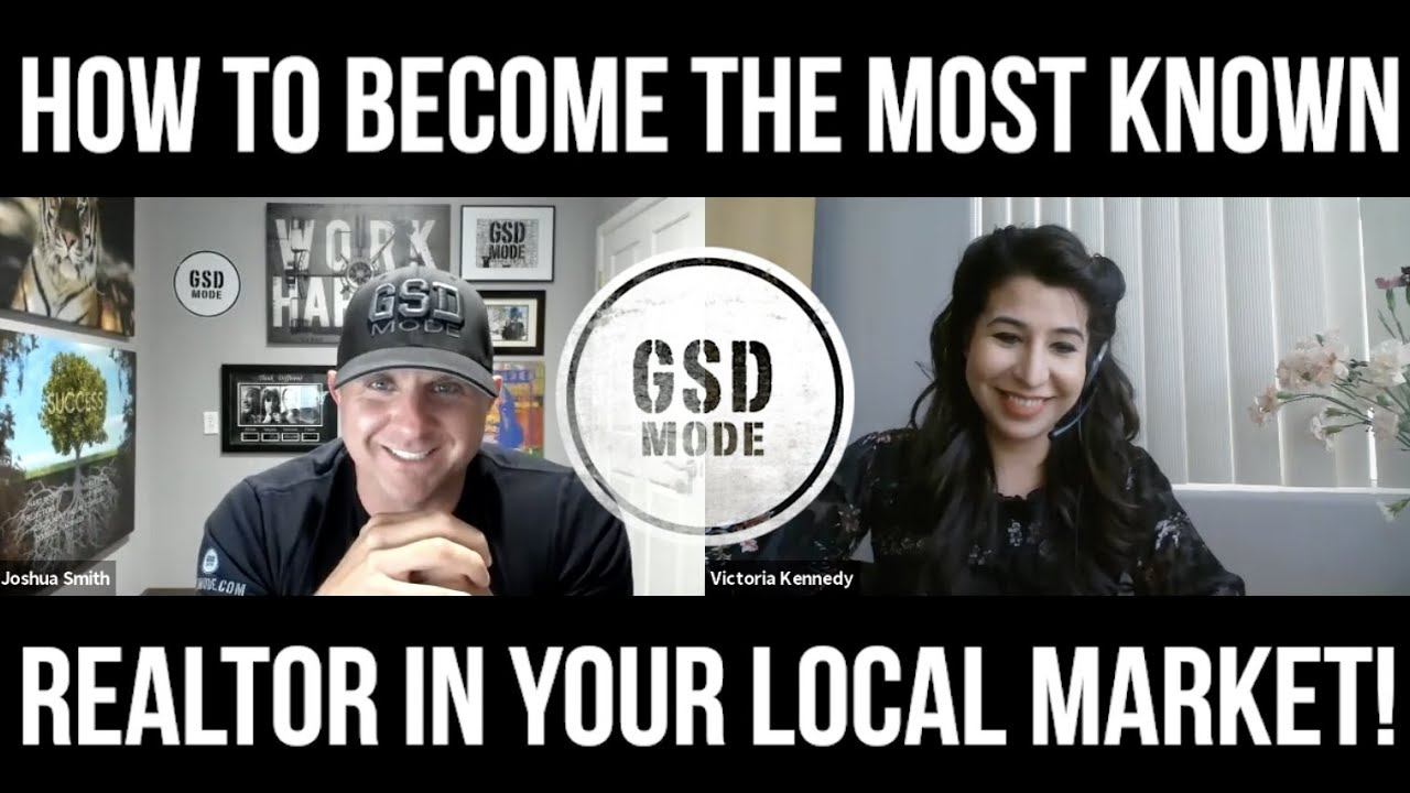 How To Be The Most Known Real Estate Agent In Your Local Market! (VICTORIA KENNEDY INTERVIEW)