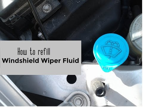How to refill windshield wiper fluid DIY video